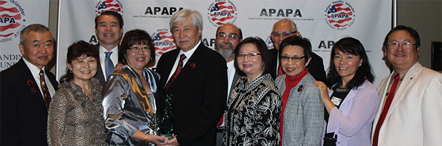 APAPA Community Service Award and CACS Board